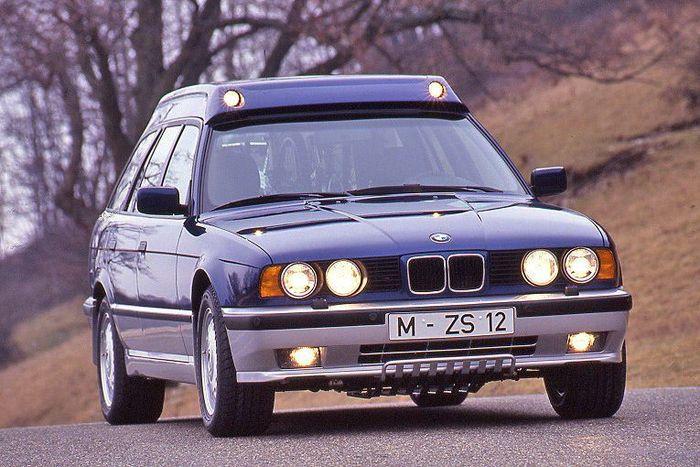 Эксклюзивный BMW 530iX Enduro Touring (22 фото)
