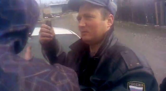 Общение с ГИБДД часть 423 (фото+видео)