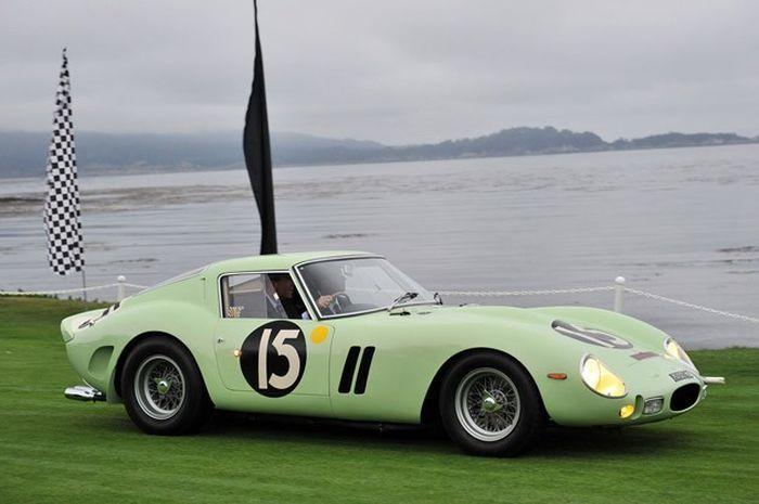 Ferrari 250 GTO 1962 года выпуска - самый дорогой спорт кар в мире! (2 фото+2 видео)