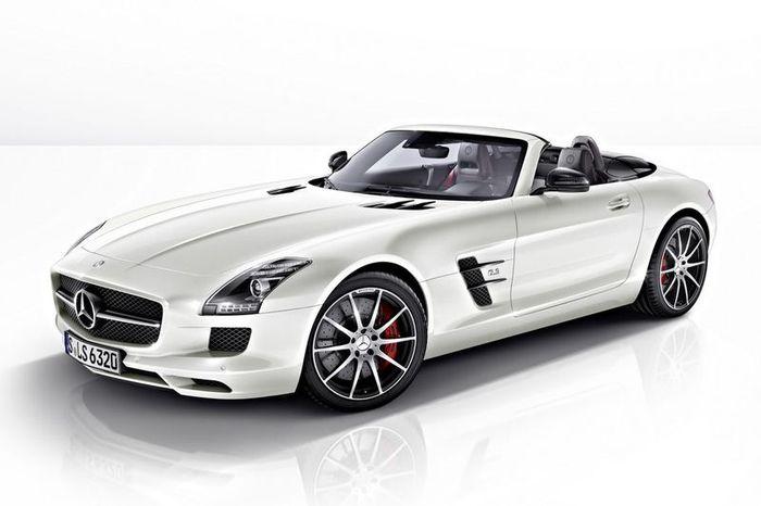 Mercedes-Benz SLS AMG получил версию GT (10 фото)
