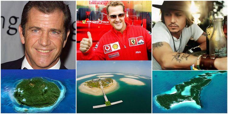 Знаменитости – владельцы островов (13 фото)