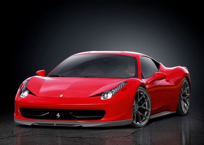 Ателье Vorsteiner показало свой взгляд на Ferrari 458 Italia (2 фото)