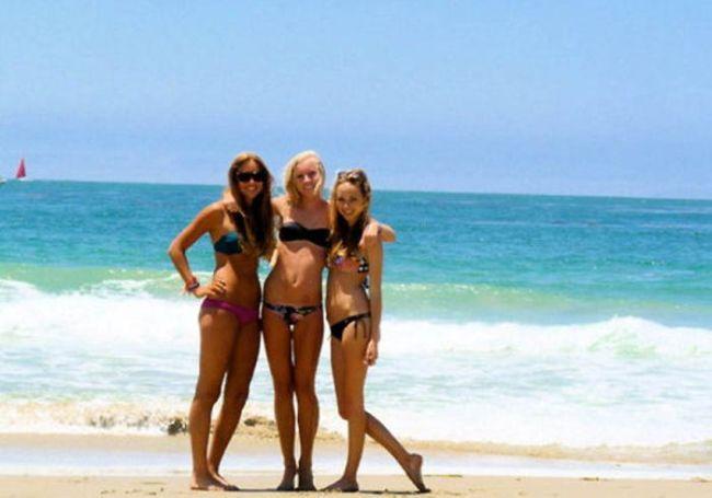Смотреть фото девки на пляже фото 323-893