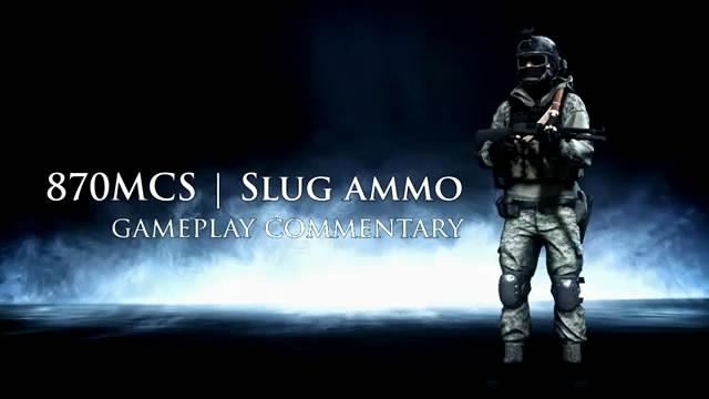 Учимся играть дробовиком Remington 870MCS в Battlefield 3 (3 видео)