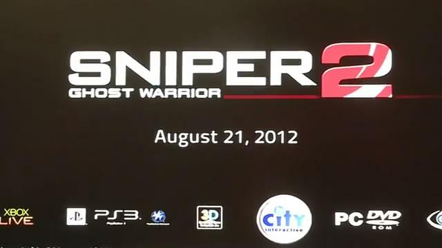 Видео Sniper: Ghost Warrior 2 – на железнодорожной станции (видео)