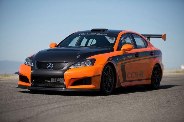 Компания Lexus представила гоночный Lexus IS F CCR-R (13 фото)