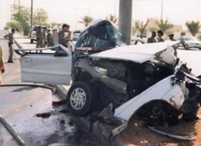 Печальные последствия безбашенного арабского дрифта (видео)