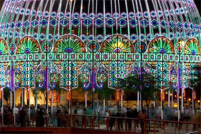 Фестиваль света в Иерусалиме (27 фото)
