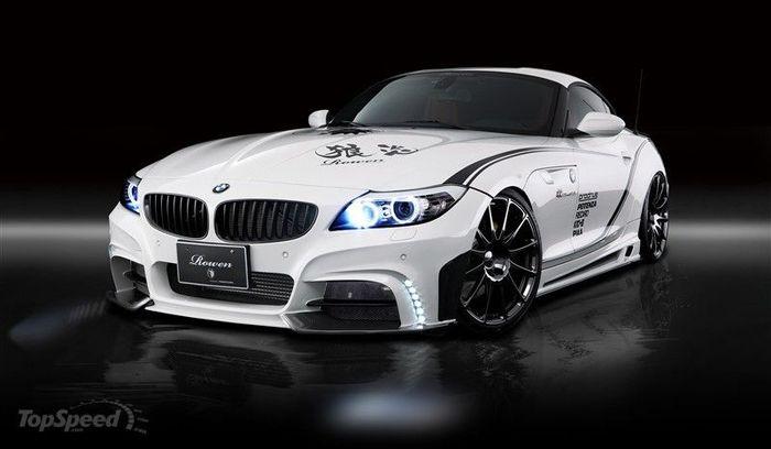 Японское ателье Rowen Japan прокачало BMW Z4 (9 фото)
