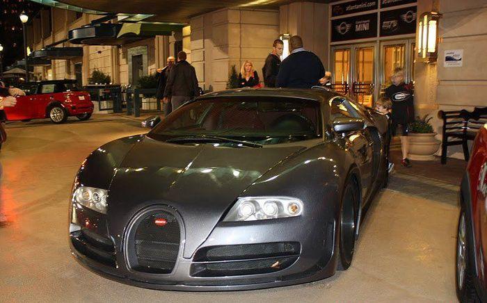 В Атланте засветилась реплика Bugatti Veyron (11 фото)