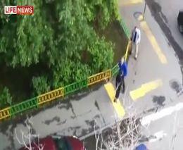 Водитель расстрелял пешеходов