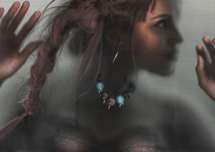 Модная фотосессия, проведенная при помощи сканера (8 фото)