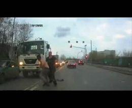 Подборка аварий и драк на наших дорогах