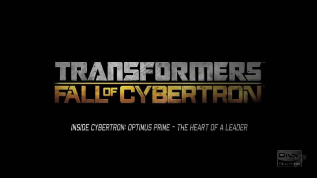 Видео-дневники разработчиков Tranformers: Fall of Cybertron – Оптимус Прайм (видео)