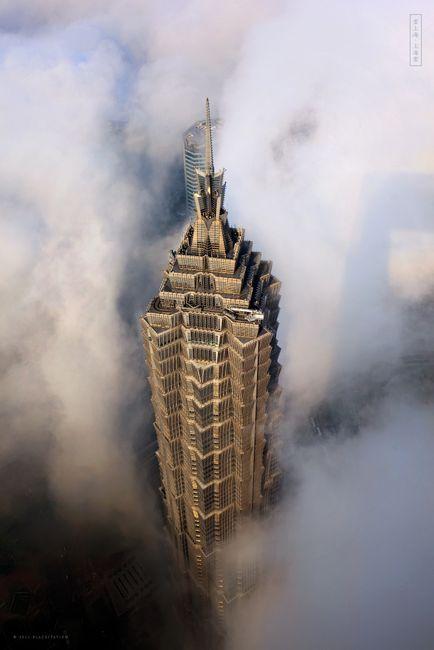 Небоскребы Шанхая: Цзинь Мао (Jin Mao)  (23 фото)