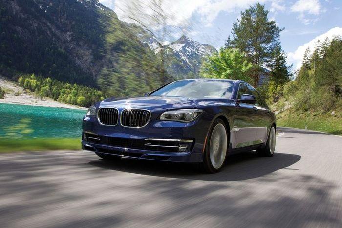 Компания Alpina представила обновленную версию модели B7 (8 фото)