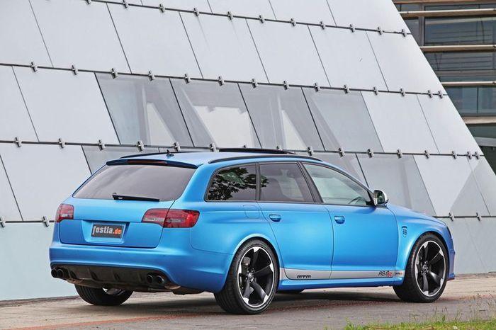 Audi RS6 Avant от тюнеров из ателье MTM (10 фото)