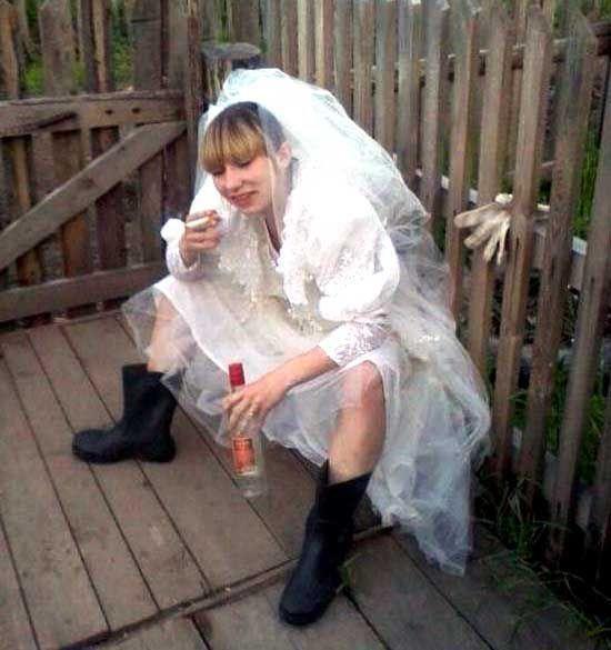 Пьяные невесты девушки фото