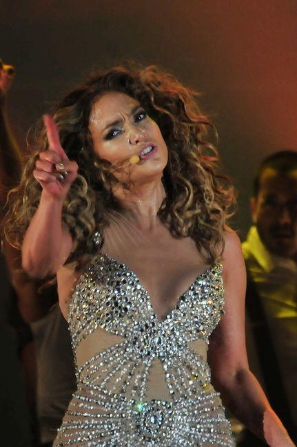 Выступление Дженнифер Лопес в Панаме (5 фото)