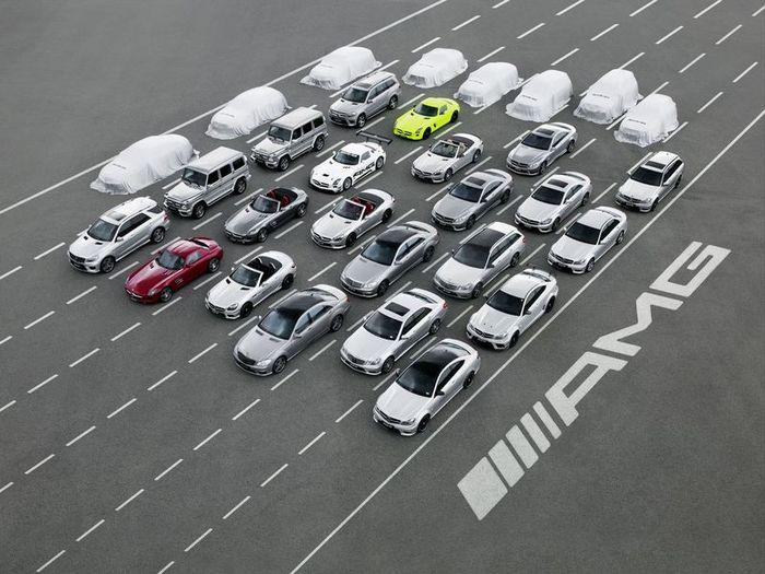 Тюнеры из компании AMG готовят восемь новых моделей (10 фото)