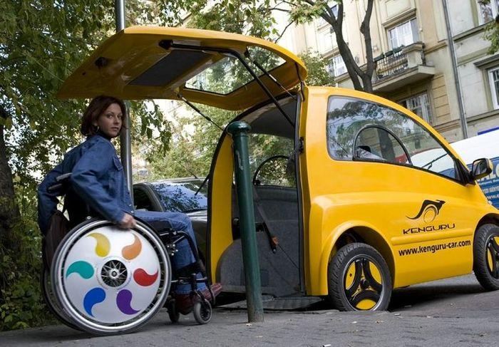 Электрокар для инвалидов от компании Community Cars (6 фото+видео)