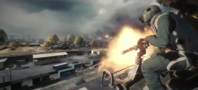 Фан-видео Battlefield 3 – смертельная гонка (видео)