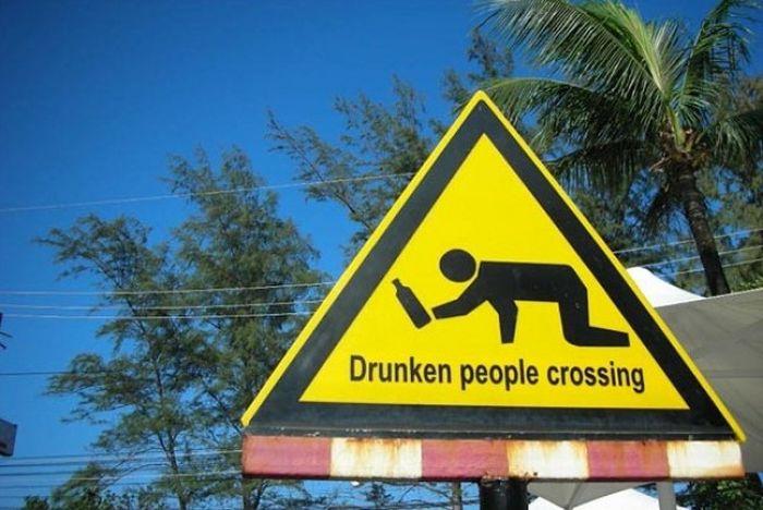 Необычные дорожные знаки и указатели (30 фото)
