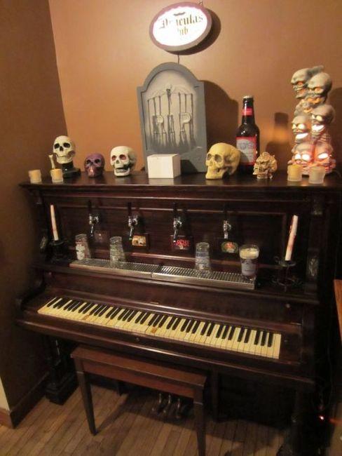 Пивной рояль своими руками (8 фото)