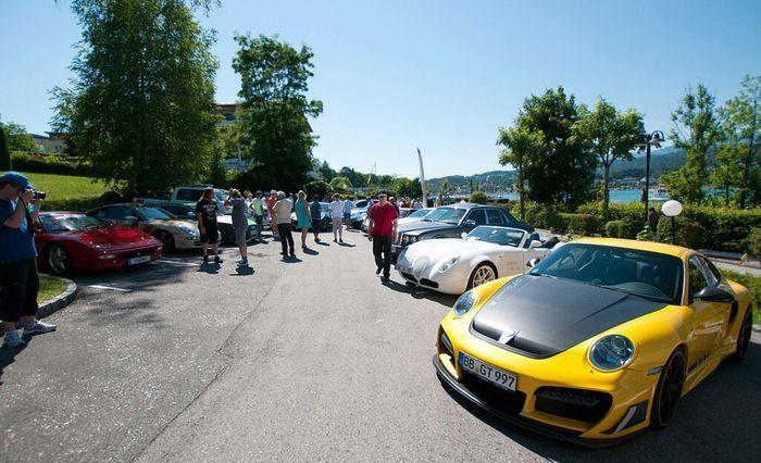 В Австрии прошел Sports Car Festival (46 фото+видео)