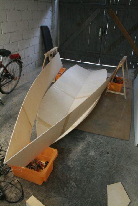 Как сделать маленькою лодку