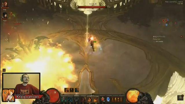 Diablo 3 пройдена на хардкор-Inferno (видео)