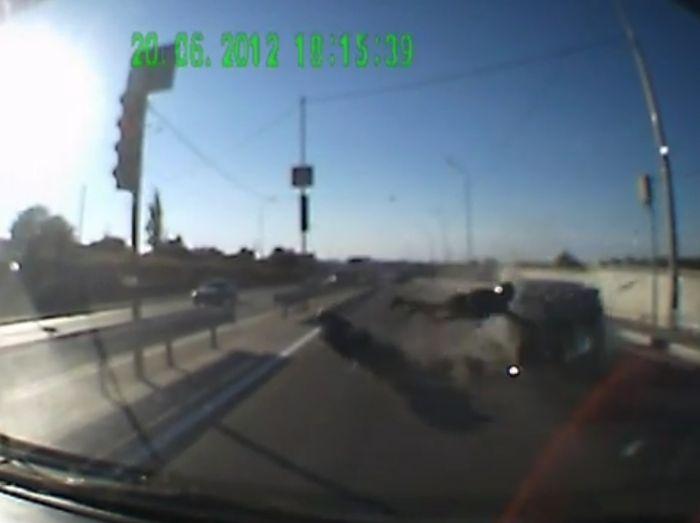 Авария дня часть 617 (фото+видео)