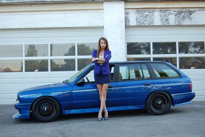 BMW E30 M3 в кузове универсал (62 фото)