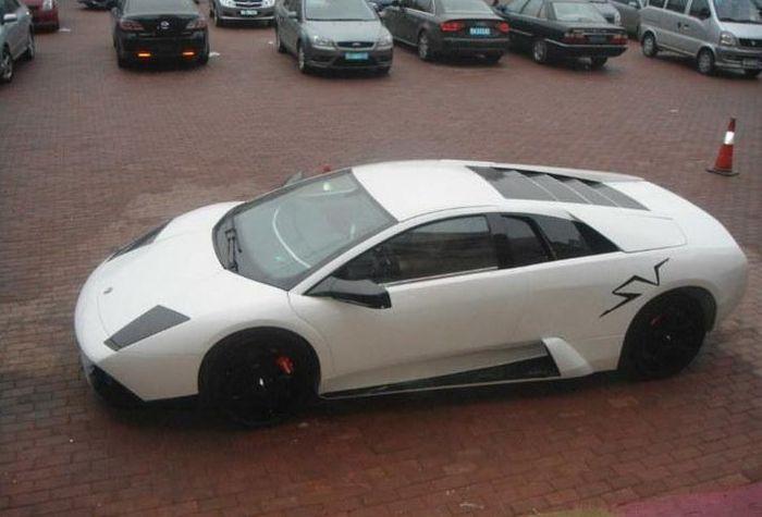 Китайцы штампуют Lamborghini по 66000$ (6 фото)