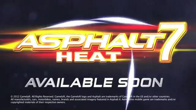 Вышел рейсинг Asphalt 7: Heat (6 скриншотов + видео)