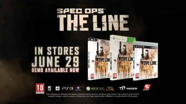 Релизный трейлер Spec Ops: The Line (видео)
