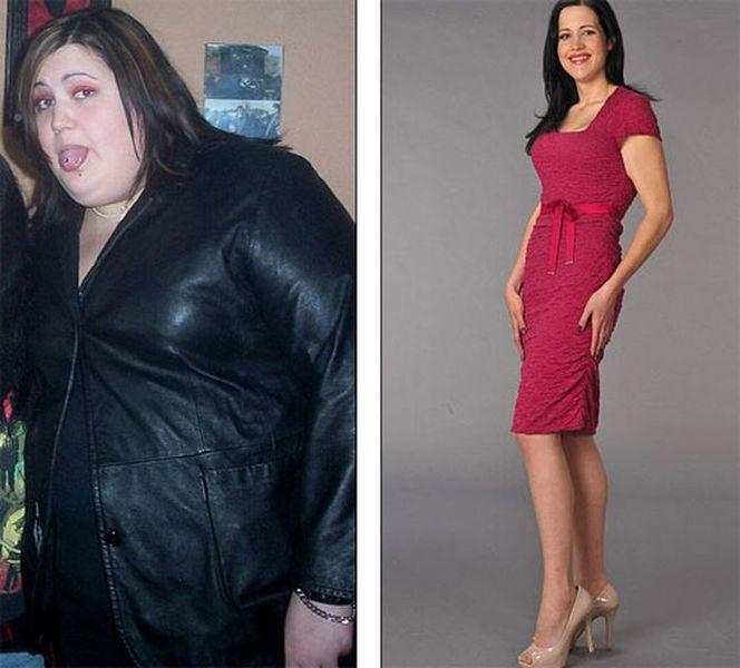 Женщина которая похудела сама