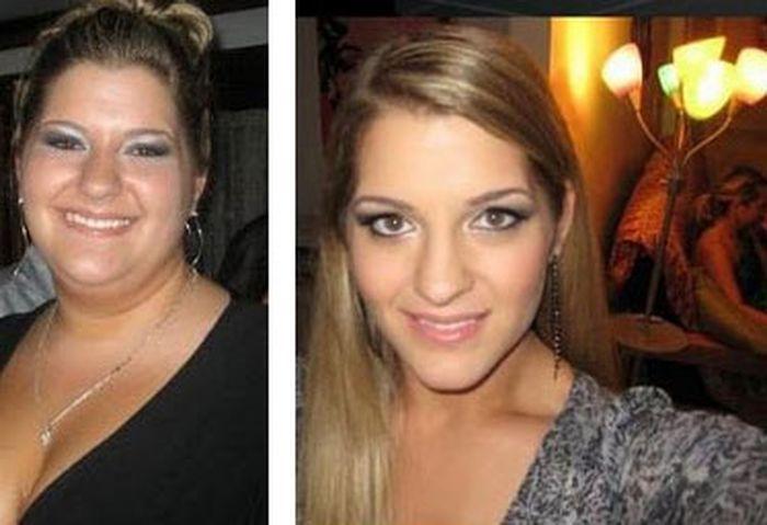 Похудевшие девушки (12 фото)