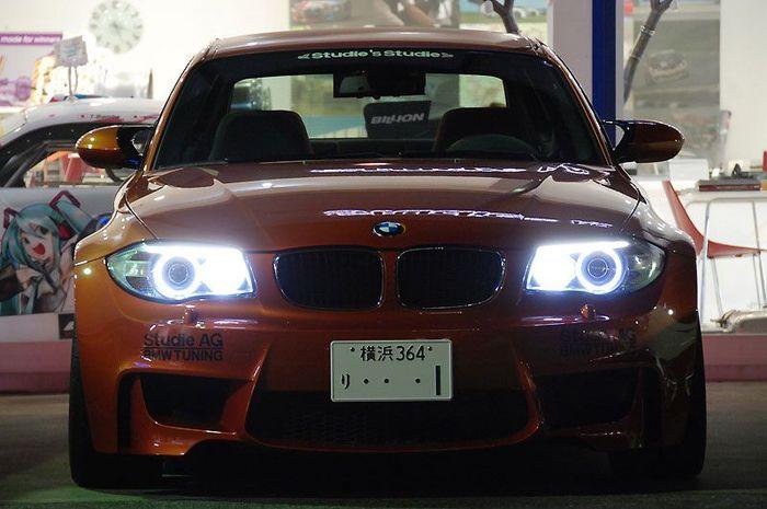 Японское ателье Studie поработало над BMW 1-Series M Coupe (33 фото)