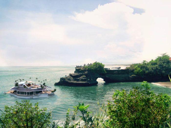 Футуристический передвижной остров Орсос (28 фото)