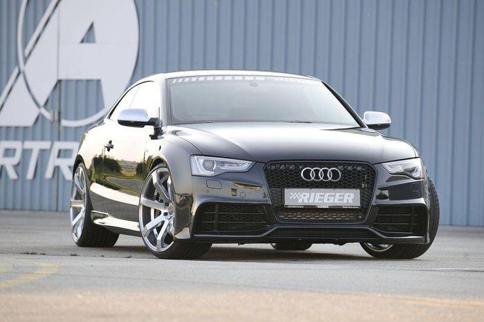 Ателье Rieger презентовал обвес для Audi A5 (12 фото)