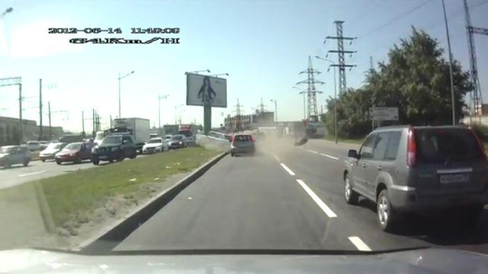 Авария дня часть 623 (фото+видео)