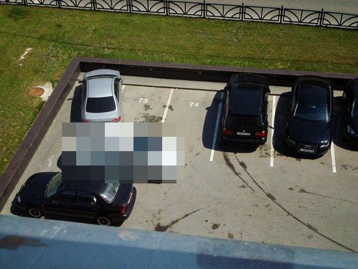 Кара за неправильную парковку в Свердловской области (3 фото)
