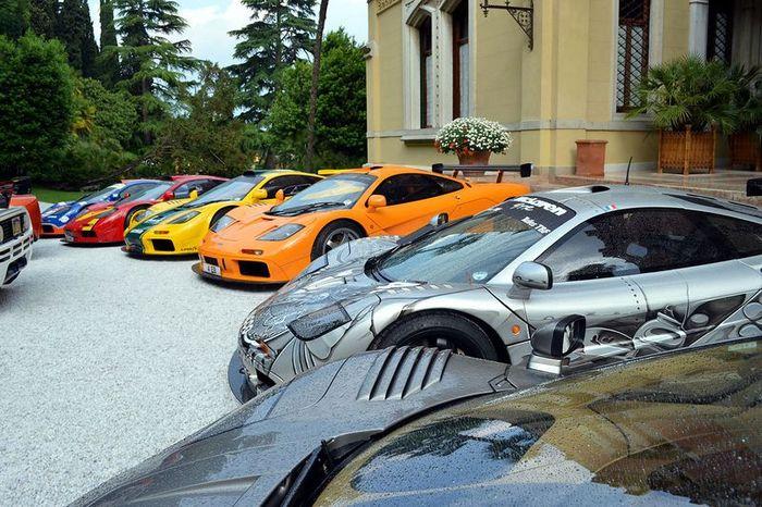 Клубу владельцев McLaren исполнилось 20 лет (61 фото)