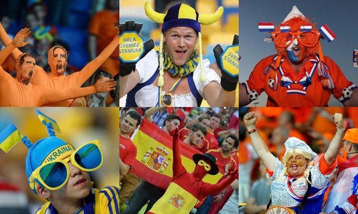 Горячие фанаты Евро-2012 (50 фото)