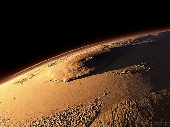 Высочайшая гора солнечной системы (7 фото)