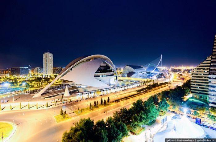Город искусств и наук в Валенсии (Испания) (16 фото)
