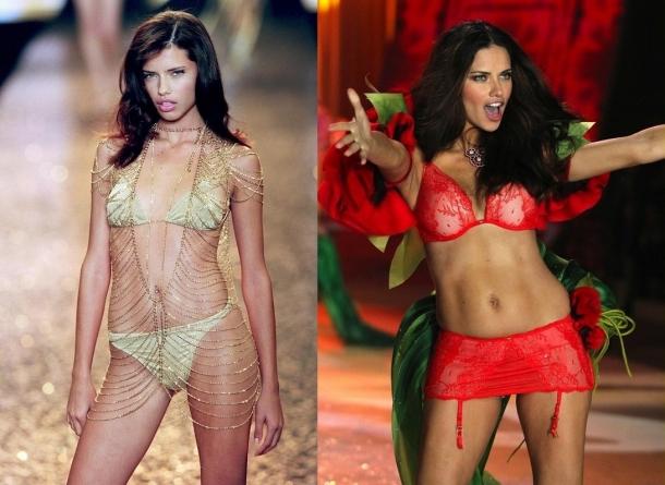 victoria's secret, мода, модель, тогда и сейчас,