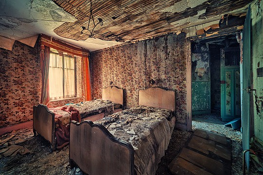 Lugares                             abandonados 5