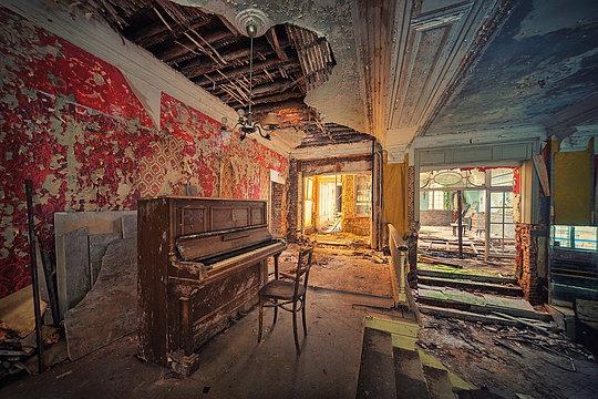 Lugares                             abandonados 8